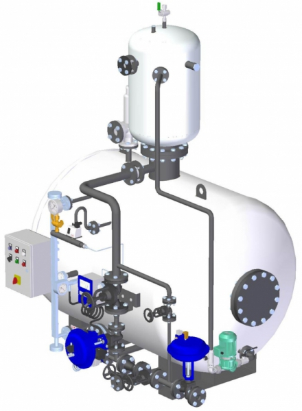 фото характеристика деаэратора газово котельной